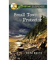 Small Town Protector (Love Inspired Suspense True Large Print)
