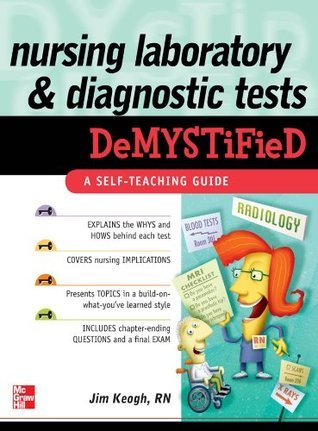 Nursing Laboratory and Diagnostic Tests Demystified by James Keogh (656 pages, 2010)