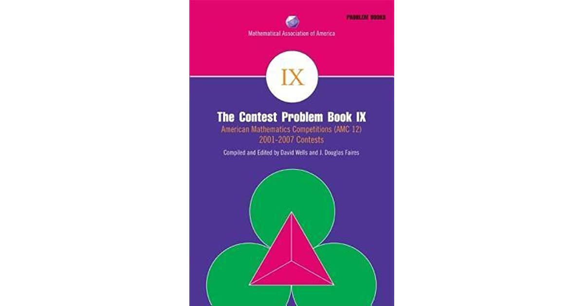 The Contest Problem Book IX: American Mathematics