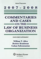 Commentaries and Cases on the Law of Business Organization, Statutory Supplement