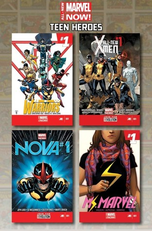 All-New Marvel Now Teen Heroes