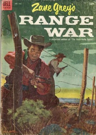 """Range War, Picturized Edition of Western Novel """"The Hash Knife Outfit""""; Classic Western Comic"""