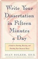 Joan bolker writing your dissertation