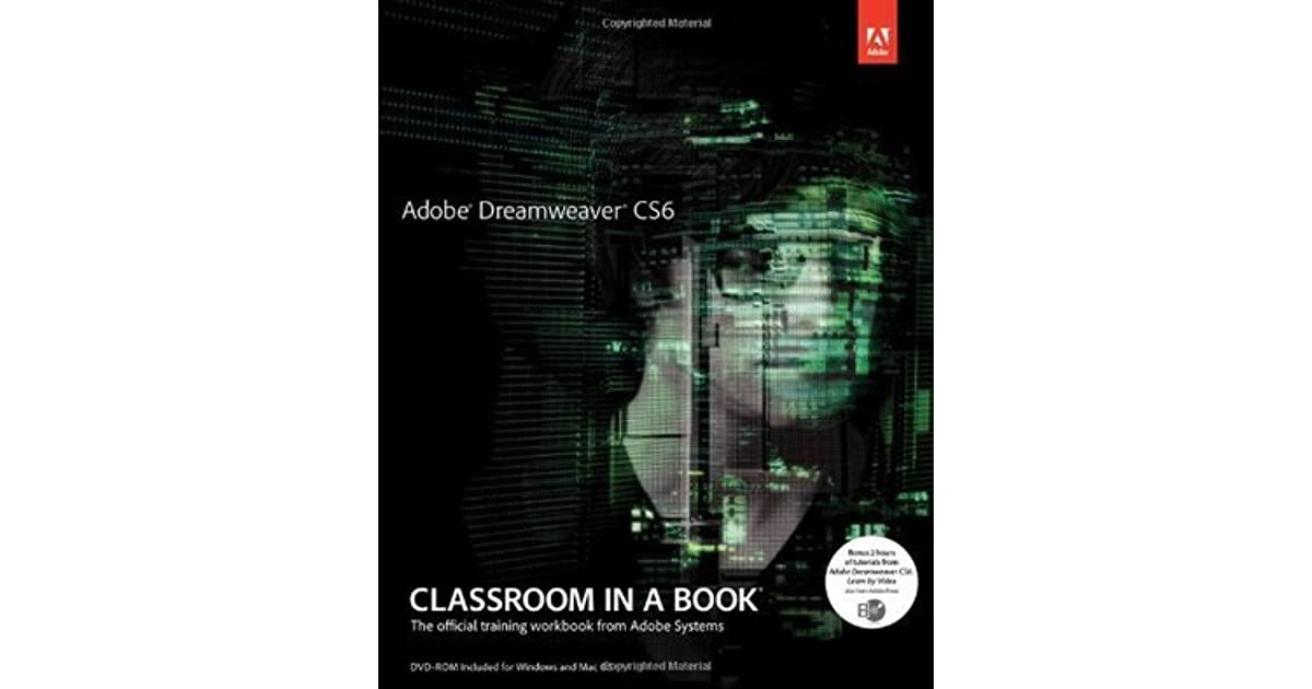 Dreamweaver Cs6 Classroom In A Book