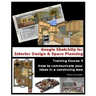 Google Sketchup For Interior Design Space Planning By Adriana Granados