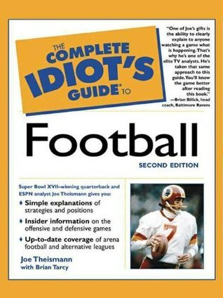 Book cover The Complete Idiot's Guide to Football, 2nd edition