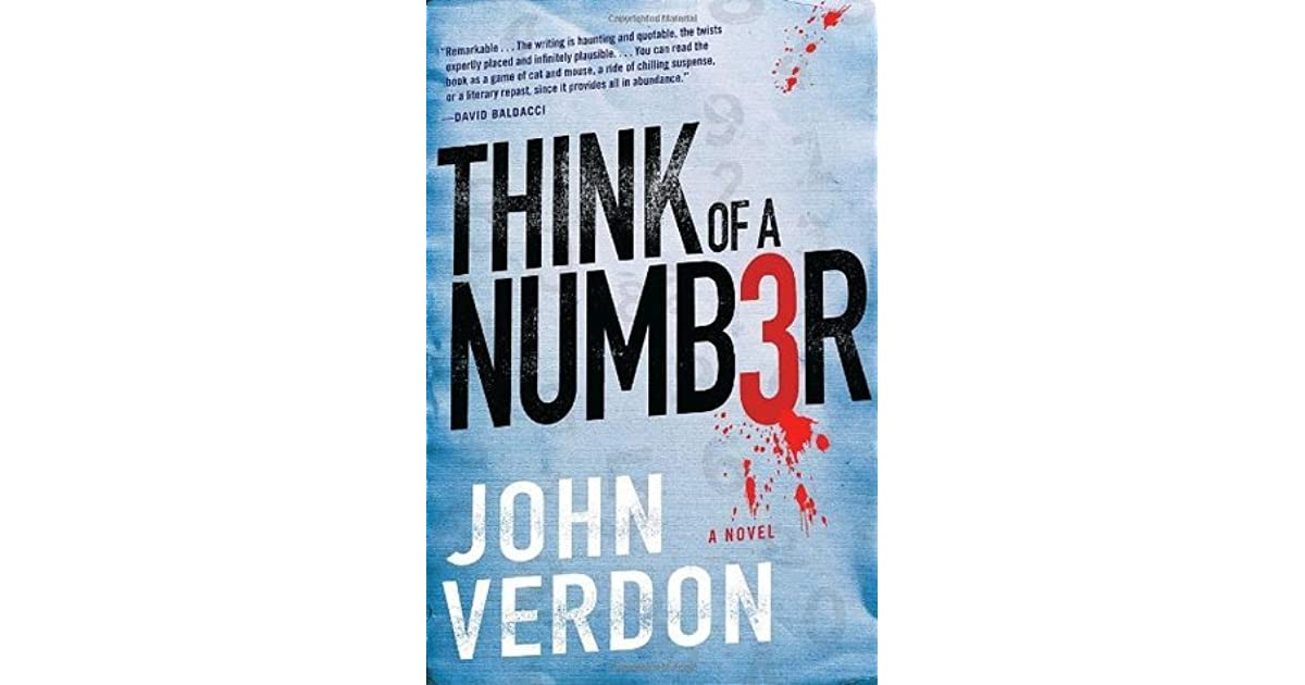 Think Of A Number John Verdon Pdf