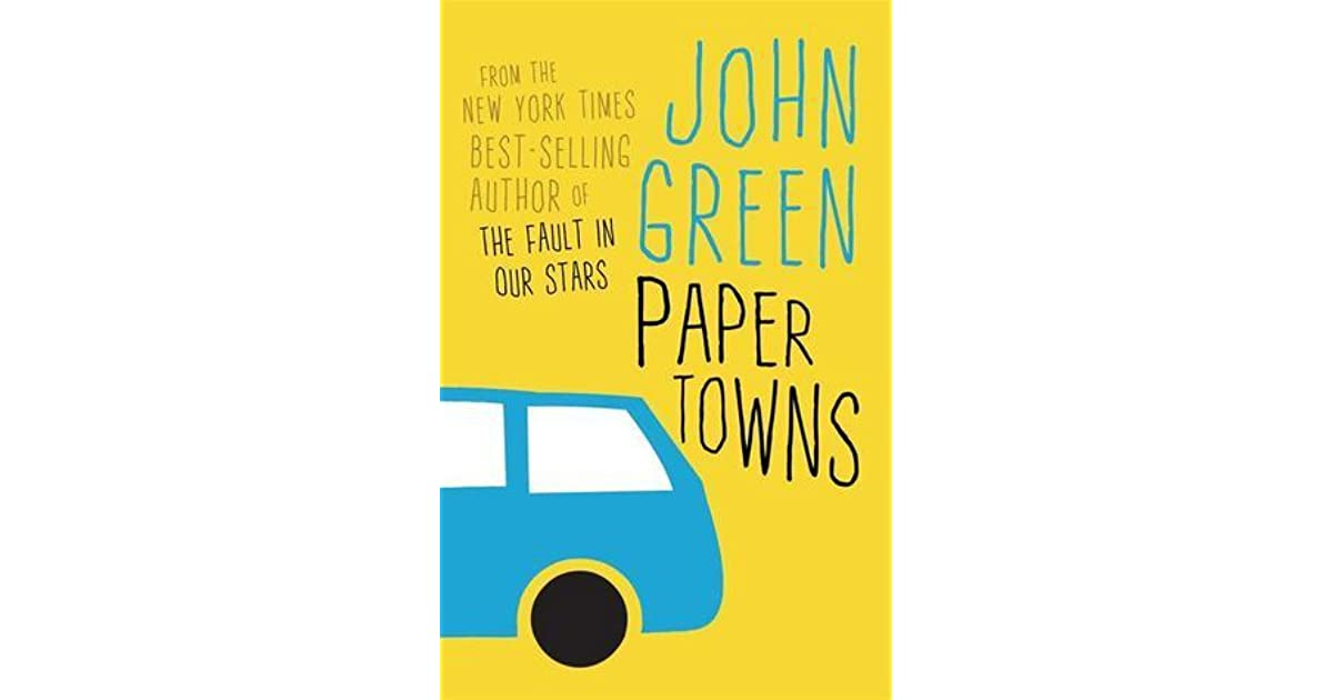 Paper Towns Book Cover Drawings ~ Paper towns by john green