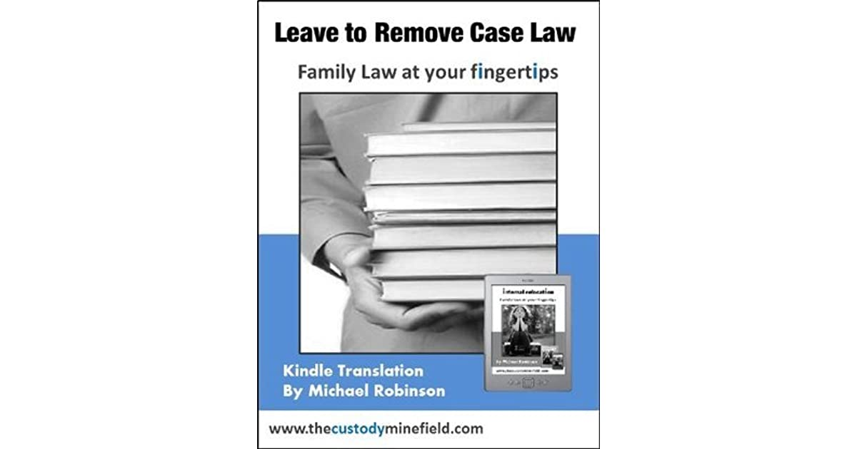 Leave to Remove Case Law