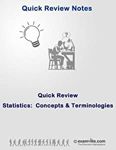 Statistics Quick Review: Concepts and Terminologies (Quick Review Notes)