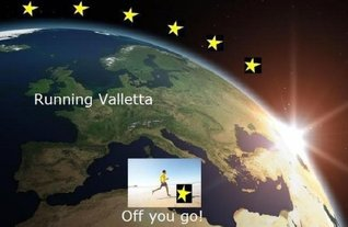 Running Valletta (Running the EU)