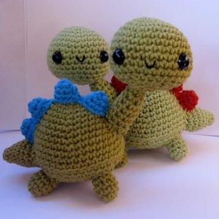 Crochet Amigurumi Dinosaur Free Patterns - Cool Creativities | 318x318