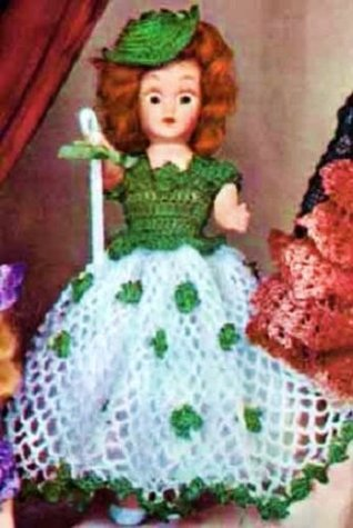 IRISH COLLEEN DOLL - A Vintage 1951 Crochet Pattern ~ Kindle eBook Download (Ireland, Irish, St Patrick's Day, Dolly, Toys, Girls)
