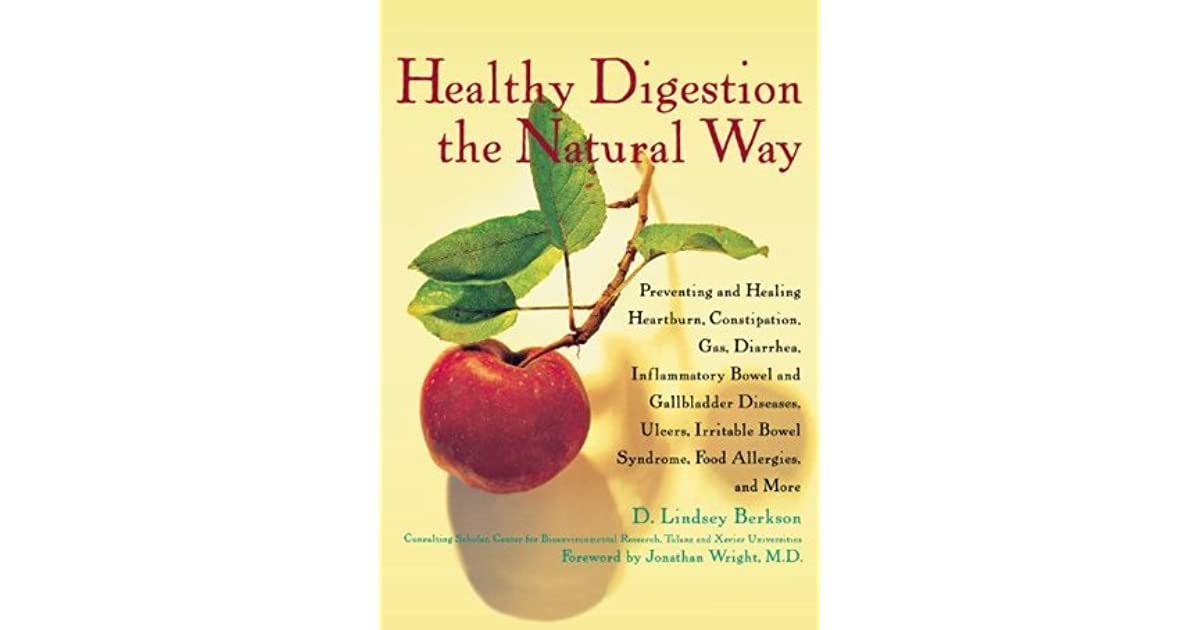 Healthy Digestion The Natural Way Lindsey Berkson