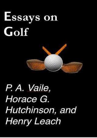 Essays on Golf (Sports Nostalgia)