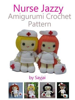 Nurse Jazzy - Sayjai Amigurumi Crochet Patterns ~ K and J Dolls ... | 424x318