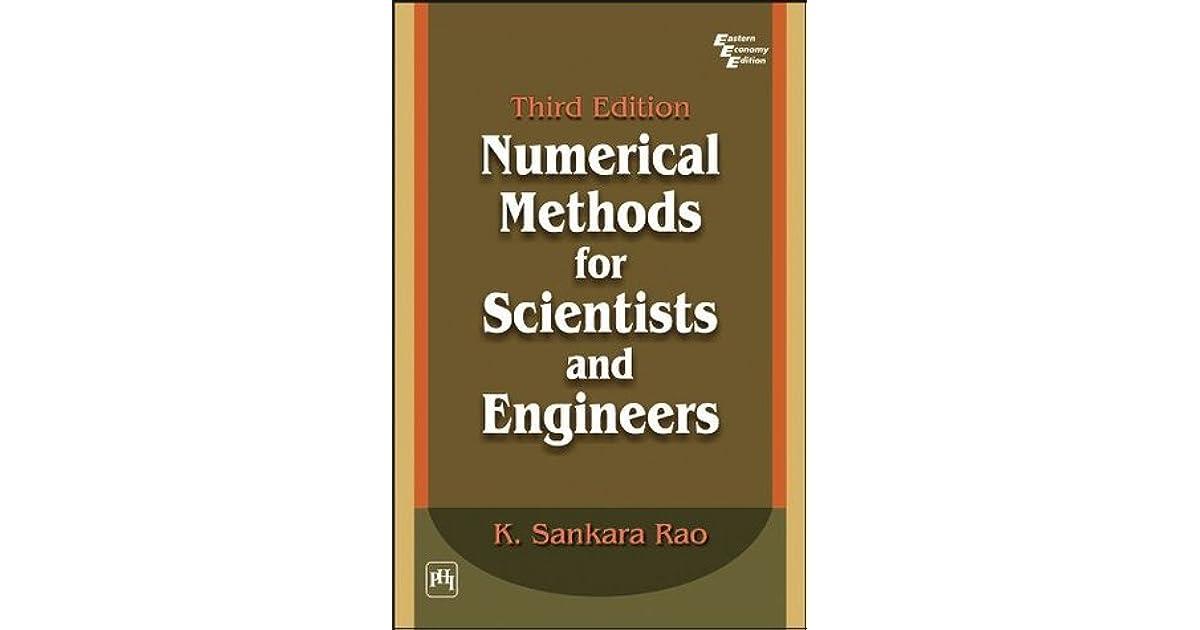 Numerical Analysis Book By Sankara Rao