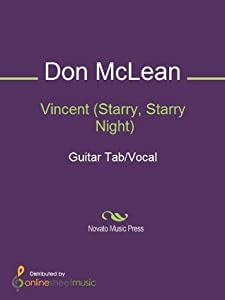 Vincent (Starry, Starry Night): Guitar Tab/Vocal