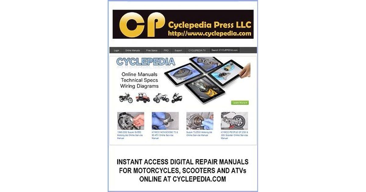 2006 2012 Honda Trx450er Trx450r Sportrax Service Manual By Cyclepedia Press Llc