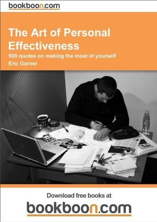 the art of personal effectiveness