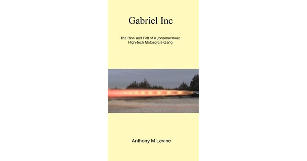 Gabriel Inc - The Rise and Fall of a High-tech Motorbike Gang