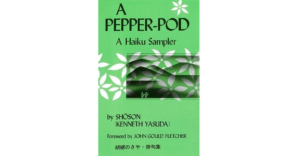 Pepper-Pod: A Haiku Sampler