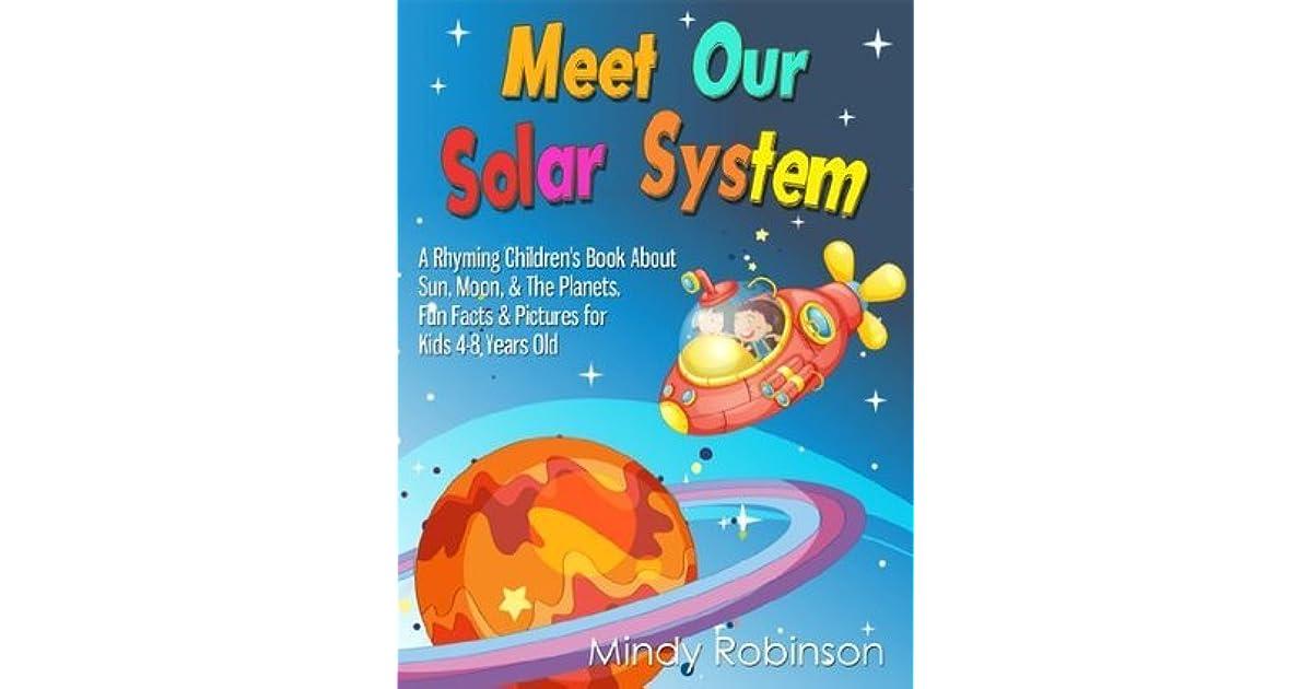 Meet Our Solar System: A Rhyming Children's Book About Sun