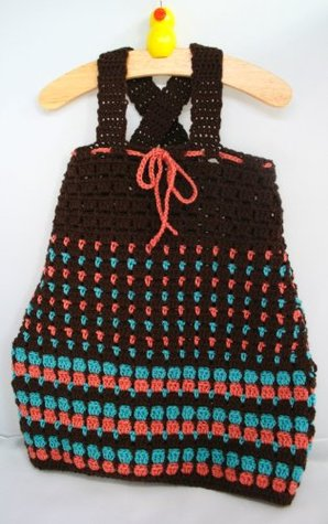 Crochet pattern baby to toddler dress (Crochet dress)