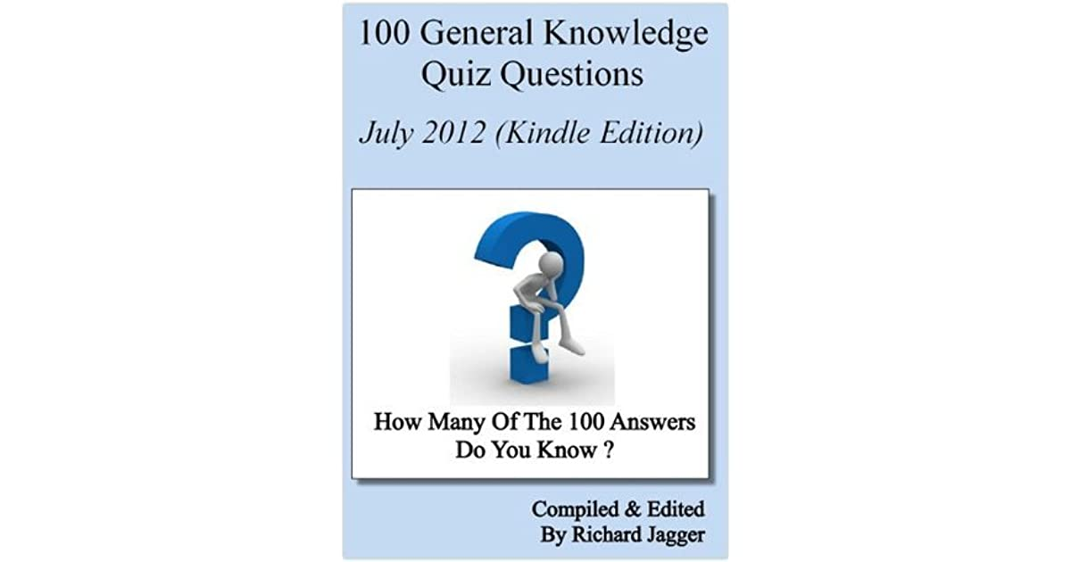 e-book 100 General Knowledge Quiz Questions (November 2012)