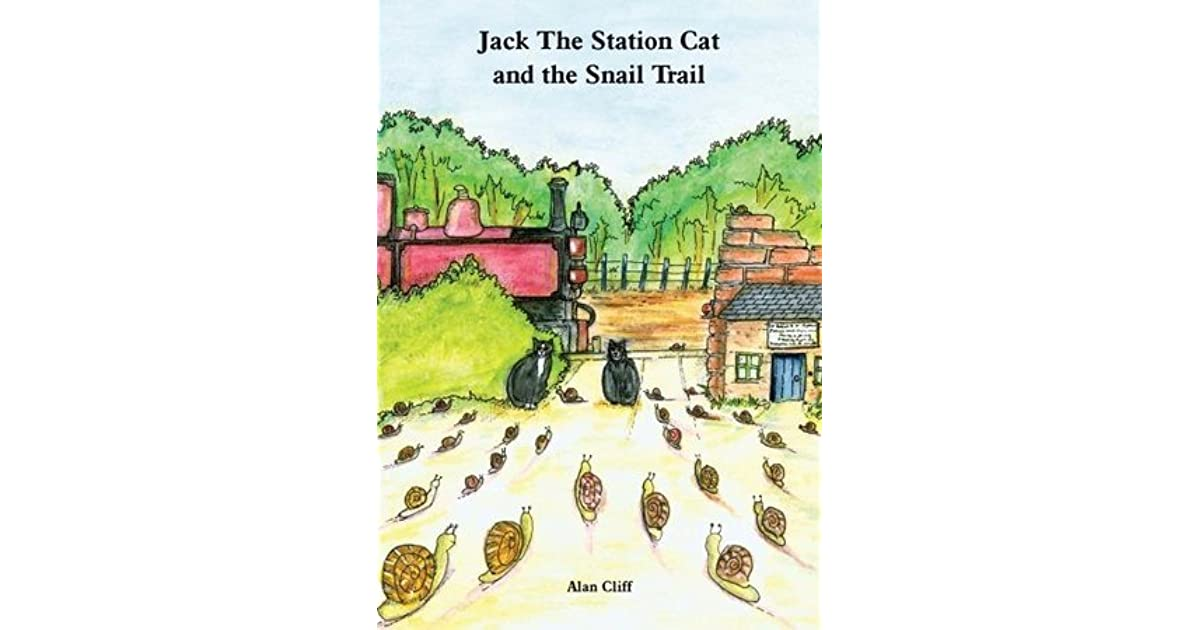 Jack The Station Cat and The Snail Trail