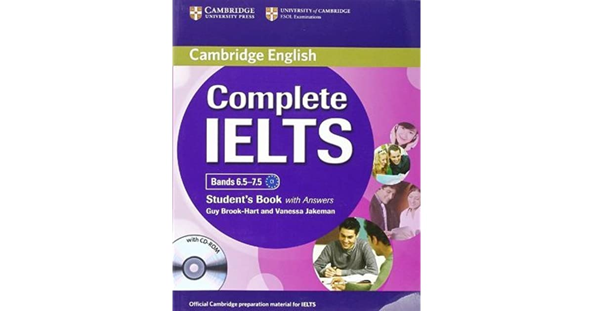 Complete Ielts Bands 6 5 7 5 Student S Book By Guy Brook Hart