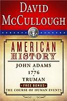 David McCullough American History E-book Box Set: John Adams, 1776, Truman, The Course of Human Events