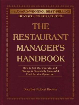 the restaurant manager's handbook