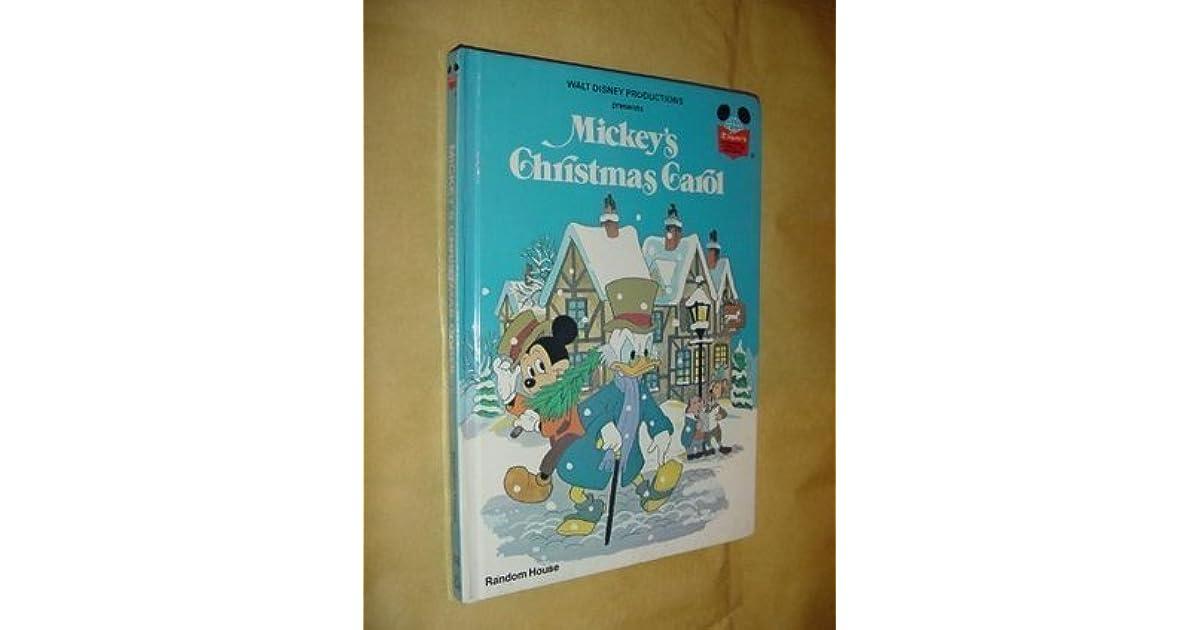 Mickeys Christmas Carol Book.Mickey S Christmas Carol By Walt Disney Company