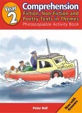 Year 2 Comprehension: Fiction, Non-Fiction & Poetry Texts in Themes Photocopiable Activity Book