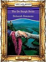 The De Burgh Bride (Mills & Boon Vintage 90s Historical)