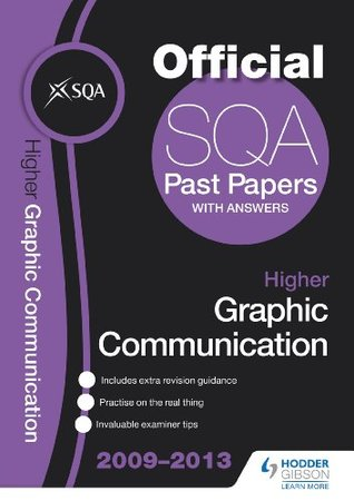 SQA Past Papers 2013 Higher Graphic Communication