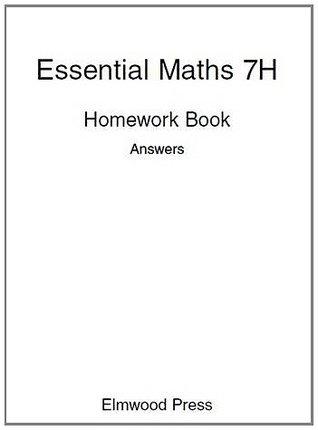 Essential Maths: Homework Book Answers Bk  7H by David Rayner
