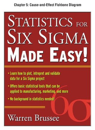 Statistics for Six Sigma Made Easy, Chapter 5 - Cause-and-Effect Fishbone Diagram
