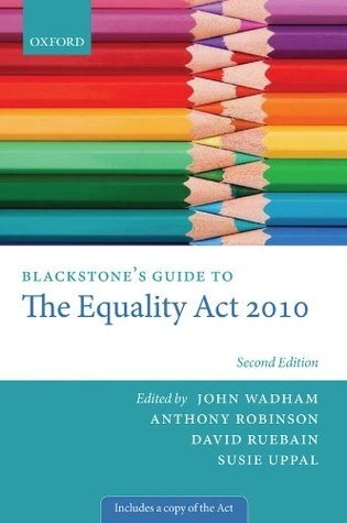 Blackstone's Guide to the Equality Act 2010 (2nd edition)