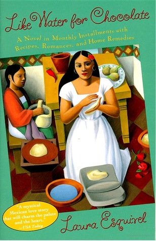 "Book cover of ""Like Water for Chocolate"" by Laura Esquivel"