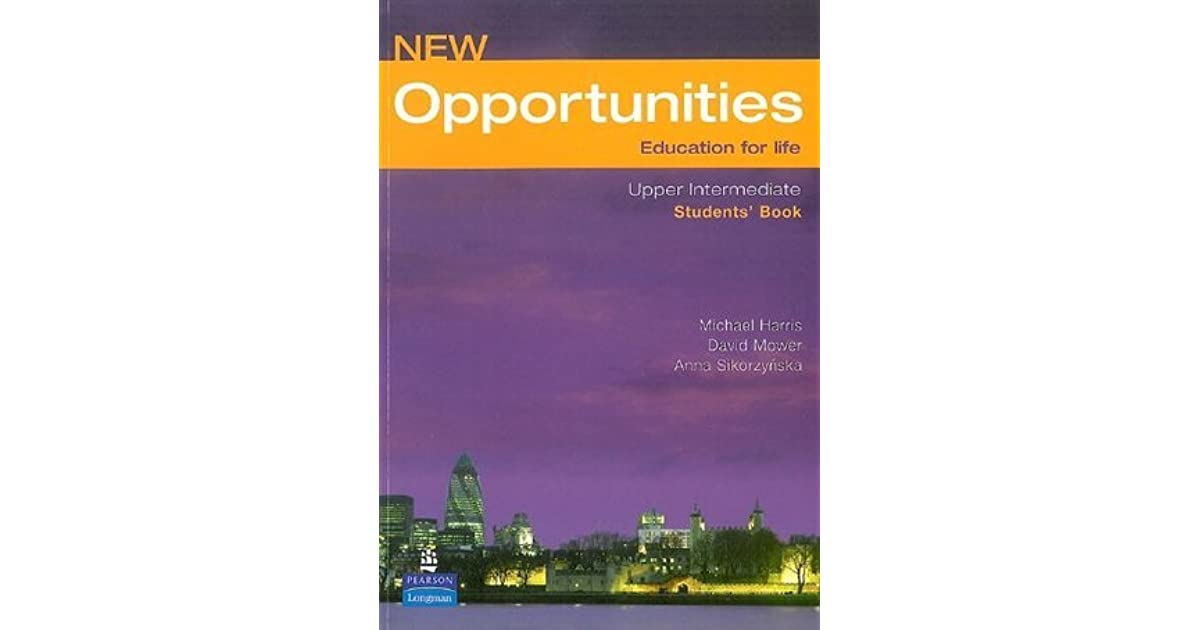 New Opportunities Education For Life Students Book