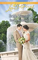 Bride Wanted (Mills & Boon Love Inspired)