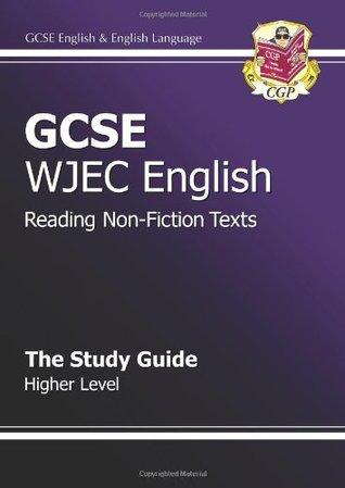 GCSE English WJEC Reading Non-Fiction Texts