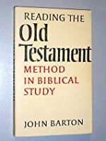Reading The Old Testament: Method In Biblical Study