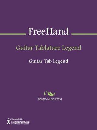 Guitar Tablature Legend