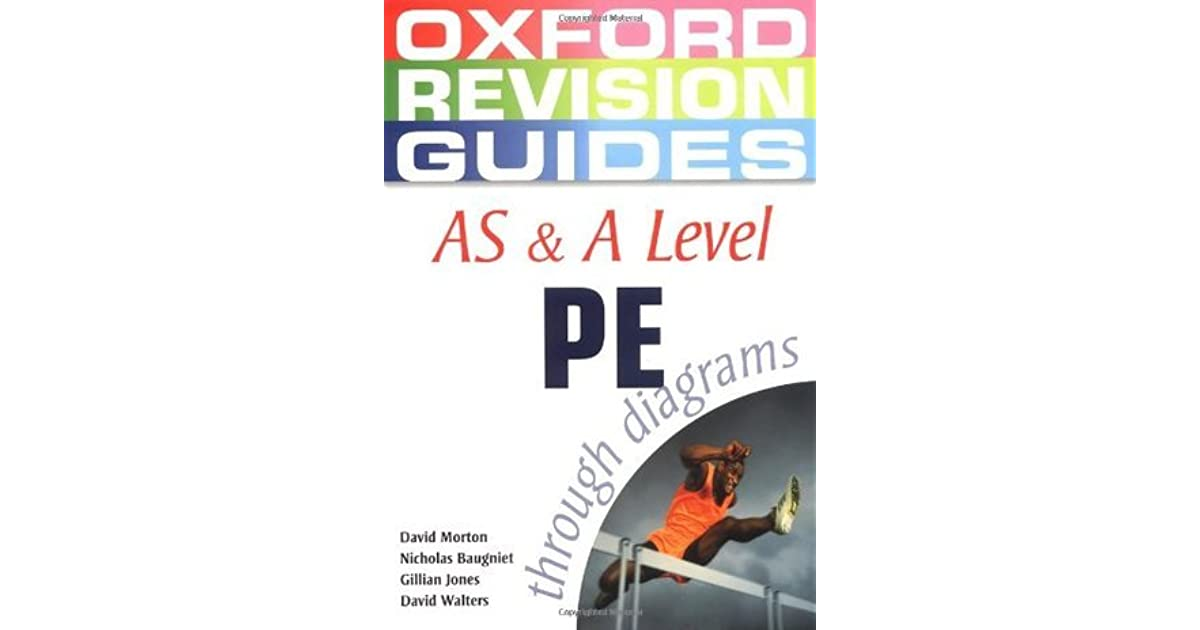 As And A Level Pe Through Diagrams By David Morton
