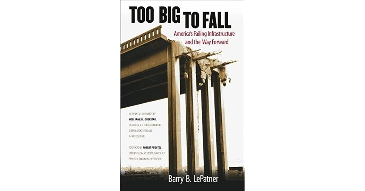 Too Big To Fall By Barry B Lepatner