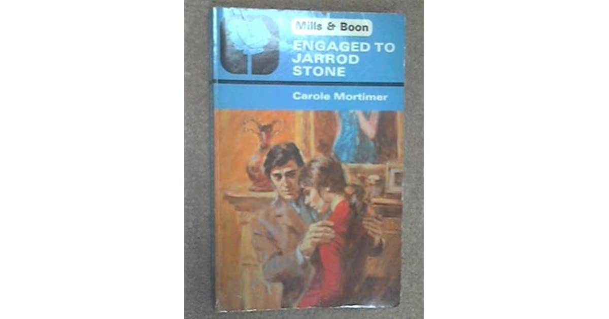 Engaged to Jarrod Stone by Carole Mortimer