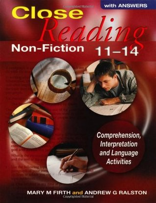 Close Reading Non Fiction 11 14 With Answers